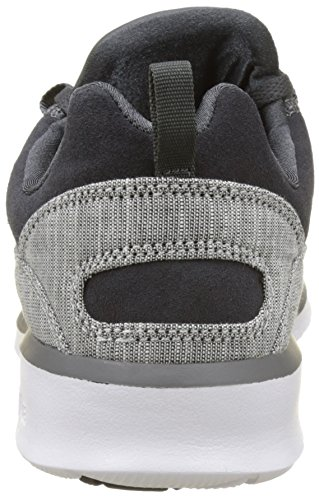 Grey DC Sneakers Shoes Homme Se Heather Grey Basses Heathrow 0qpTw0