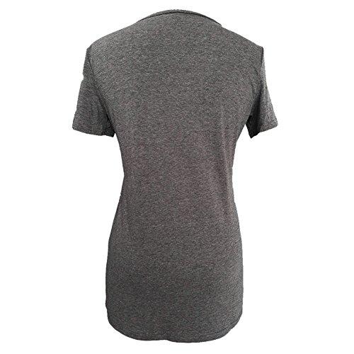 La Cabina Femme Sexy Mini Robe T-Shirt + Manche Court Confortable pour été