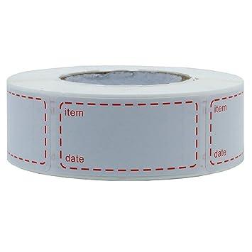 1 Sticker etiquetas de congelación congelados etiqueta Congelador ...