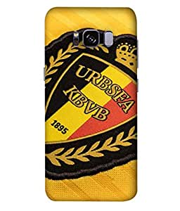 ColorKing Football Belgium 08 Multi Color shell case cover for Samsung S8 Plus