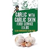 Garlic with Garlic Skin (55 lbs)