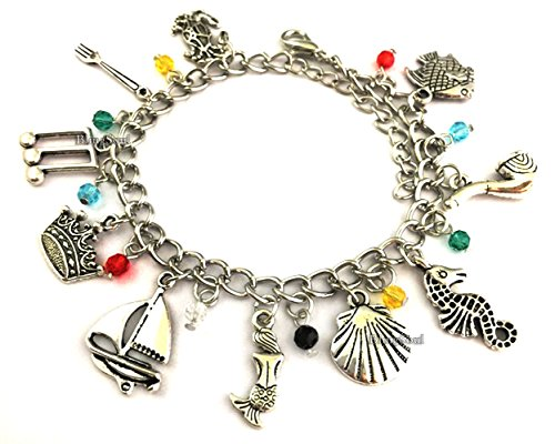 BlingSoul TV Movie Inspired Jewelry Collection (Little Mermaid Charm Bracelet)