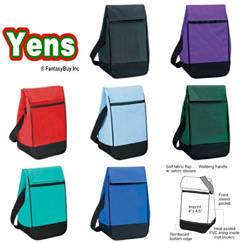 Yens® Fantasybag Economy Lunch Bag-Black, 3618