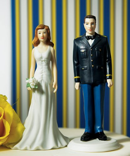 (Weddingstar Military Groom in U.S. Army Dress Uniform Figurine)