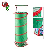 Elf Stor 83-DT5176 1580 40 Inch Tall Pop up Gift Wrap Storage Fold-Able Removable Bow Bag