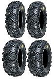 Full set of Sedona Mud Rebel 26x9-12 and 26x12-12 ATV Tir...