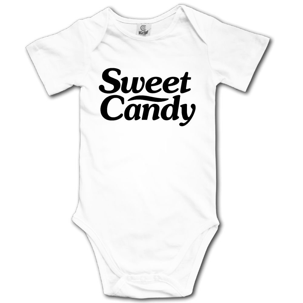 Baby Toddler Climbing Bodysuit Sweet Candy Infant Climbing Short-Sleeve Onesie Jumpsuit