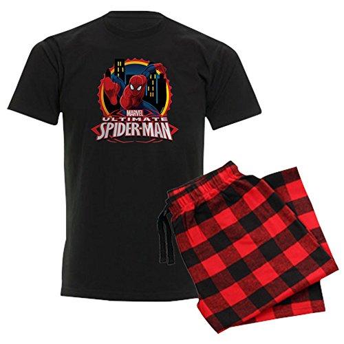 CafePress Ultimate Spiderman Unisex Novelty Cotton Pajama Set, Comfortable PJ Sleepwear]()