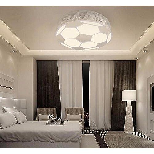 XHOPOS HOME Lampe de plafond Football LED éclairage Chambre d\'enfant ...
