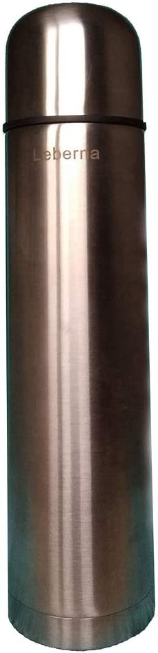 34 Ounce Stainless Steel Vacuum Insulated Briefcase Bottle Hot & Cold Beverage