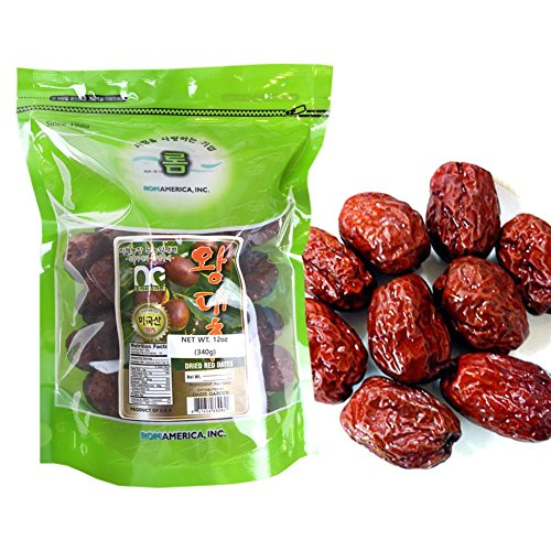 BIG SIZE 100% Natural Organic Dried Dates Snacks Fruit Jujube 12 oz