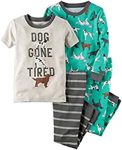 Carter's 4 Piece Dogs PJ Set (Baby)