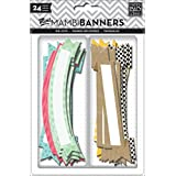 Me and My BIG Ideas Dcv-55 Mambi Banners Happy Day Scrapbooking Supplies