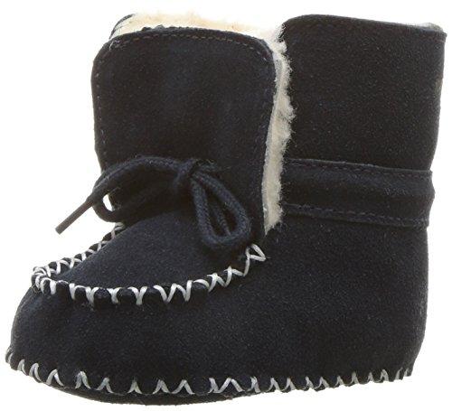 Polo Ralph Lauren Kids Boys' Pocono Boot, Navy Suede, 2 M US - Ralph Lauren Baby Boots