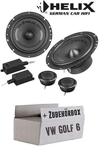 Lautsprecher Boxen Helix F 62c 16cm 2 Wege System Auto Einbauzubehör Einbauset Für Vw Golf 6 Just Sound Best Choice For Caraudio Navigation