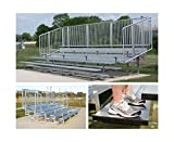 Preferred Bleachers with Vertical Picket Railing (15 ft.)