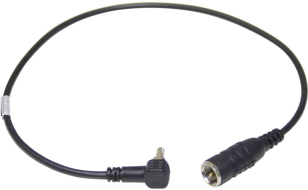 tomzz Audio 1500-026 Antennenverteiler Y-Adapter Antenne Splitter Adapter Kabel Stecker DIN ISO Auto Radio Stecker auf 2 x Buchse