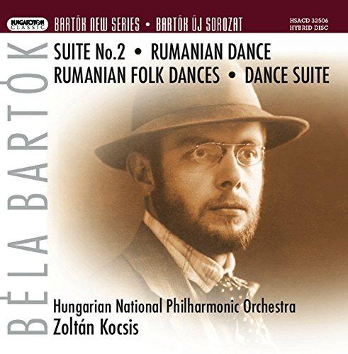 Román népi táncok (Romanian Folk Dances), BB 76: No. 3. Pe loc: Moderato