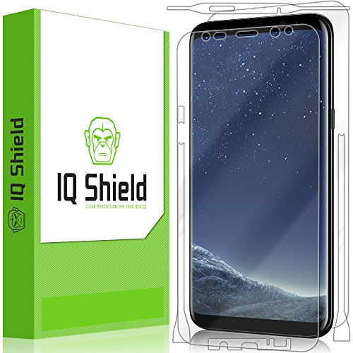 Galaxy S8 Plus Screen Protector, IQ Shield LiQuidSkin Full Body Skin +...