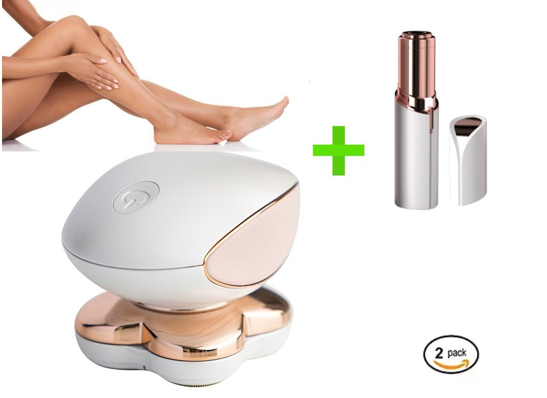 Woman Gold Electric Shaver Body Facial Hair Remover Painless Razor