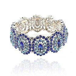 Austrian Stretch Crystal Rhinestone Bracelet