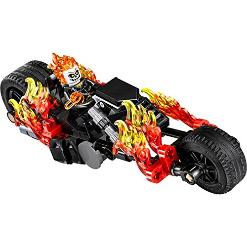 Lego Ghost Rider with Motorcycle - New for 2016 - Loose