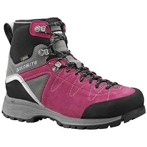 Dolomite, Scarpe da escursionismo donna Verde verde, Rosa (Raspberry Pink/Gunmetal Grey), 6