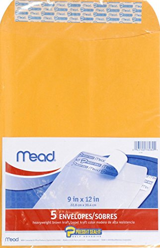 MEAD Press It-Seal-It Envelopes - Folder Mailing