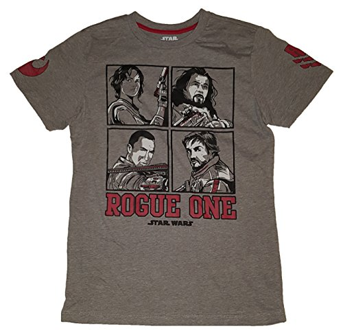 Star Wars Rogue One Square Up Graphic T-Shirt - - Square Valley Stores