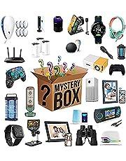 Lucky Box Mystery Box Caixas Misteriosas De Eletrônicos Caixa Surpresa Aleatória De Aniversário,Como Drones,Relógios Inteligentes,Gamepads E Muito Mais (1-2 Produtos)