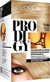 loral paris prodigy coloration permanente lhuile sans ammoniaque 910 - Coloration Cheveux Sans Ammoniaque Et Sans Oxydant