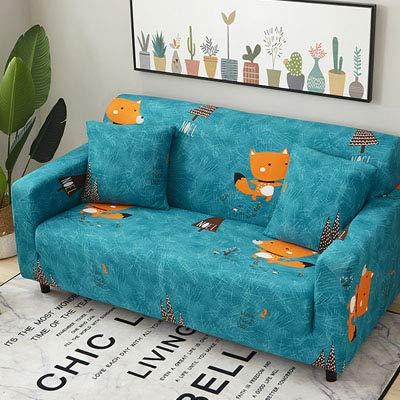 XGM GOU Fundas de sofá elásticas con diseño de Hojas ...