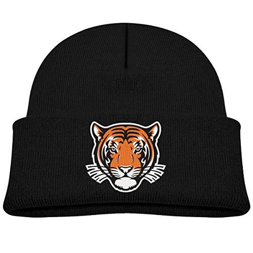66df538857e Princeton Tigers Helmet Baby Boy Girl Toddler Kids Knitted Hat Cap Black