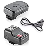 Neewer 16 Channel Wireless Remote FM Flash Speedlite Radio Trigger with 2.5mm PC Receiver for Canon,Nikon,Olympus,and Other Flash with Universal Hot Shoe
