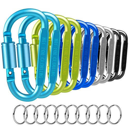 Puroma 10 Pack Carabiner Clip 3