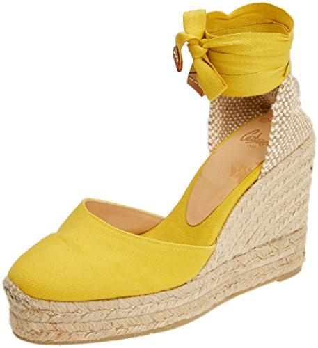 Castañer Femme light Espadrilles Yellow Jaune 1001 Carina8ed001 AaUqp