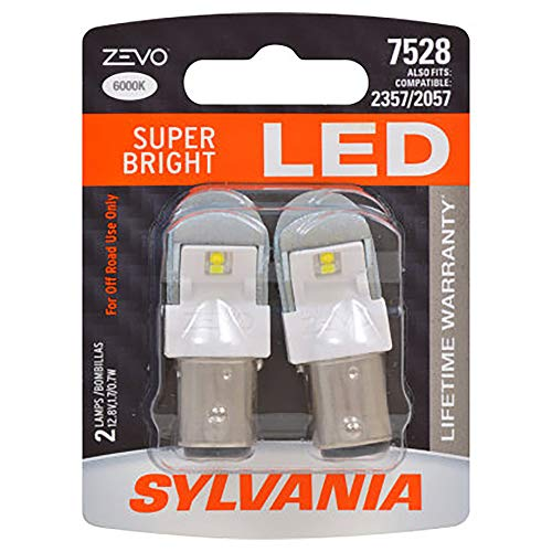 SYLVANIA ZEVO 7528 White LED Bulb, (Contains 2 Bulbs) for sale  Delivered anywhere in Canada