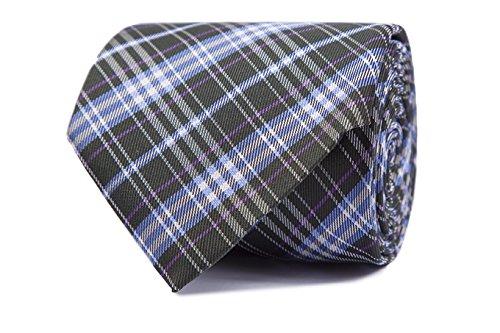 SoloGemelos - Corbata Escocesa - Verde - Hombres - Talla Unica ...