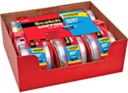 "Scotch Heavy Duty Packaging Tape, 1.88"" x 22.2 yd, Designed for Packing, Shipping and Mailing, Strong Sea"