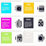 Fidget Cube Relieves Stress and Anxiety for Children and Adults Anxiety Attention Toys 6 Colors