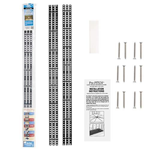 Goof Proof Pre-Pitch Standard Shower Installation Kit, PPK/STD-201, 1/8