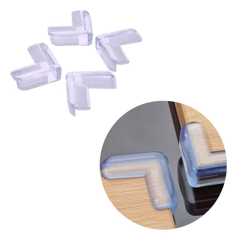 Modenny 10pcs/lot Children Table Edge Guards Protection Cover Baby Safety Table Corner Protector Silicone Anticollision Cabinet Cover