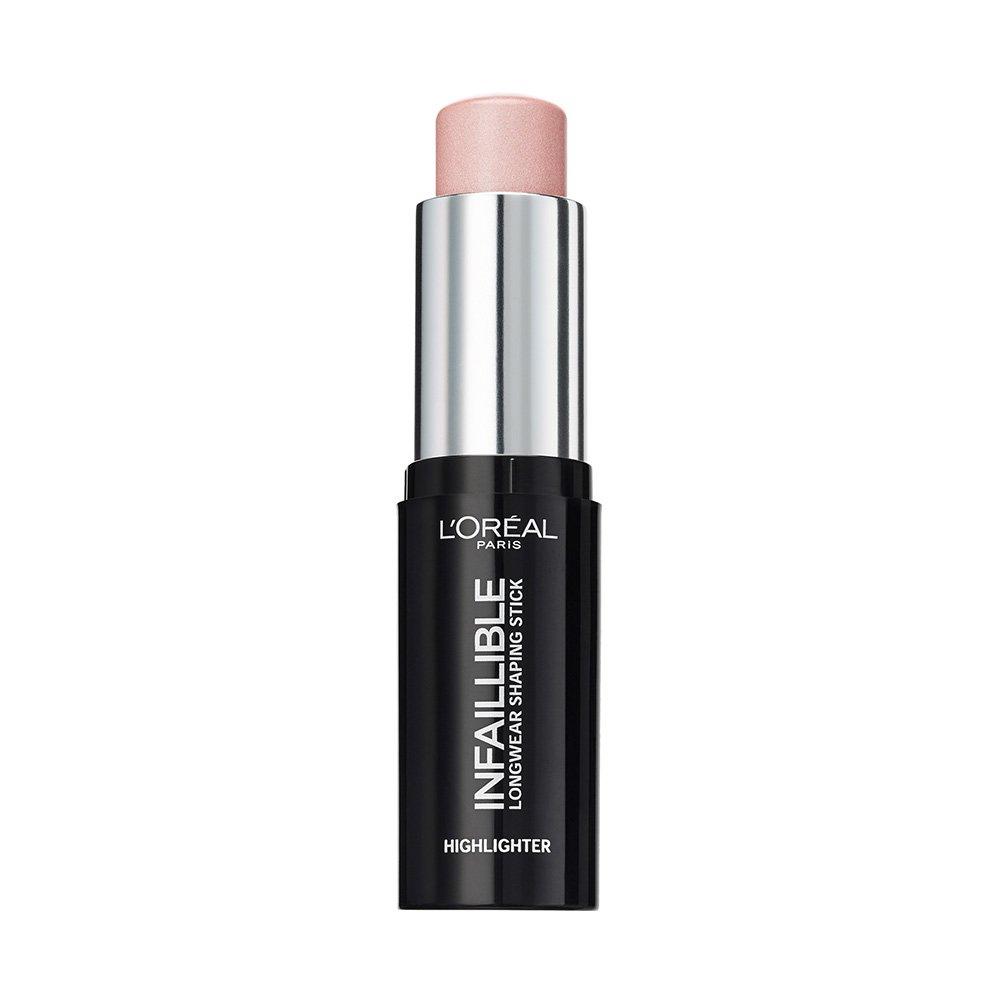 L'Oreal Infaillible Stick Iluminador 24h, Tono 503 Slay In Rose, 9g L'Oréal 3600523533503