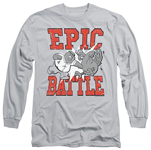 Long Sleeve Shirt Family Guy - Longsleeve: Family Guy - Epic Battle Longsleeve Shirt Size S