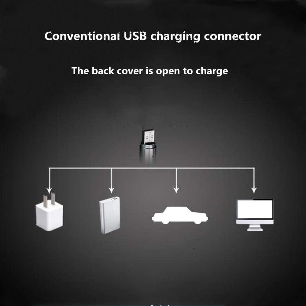 ACHICOO Lampe-Torche Rechargeable USB Multi-Fonction extérieure en Acier Inoxydable à LED 3 functions -money detection + banknote + infrared