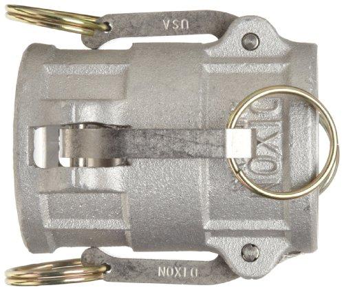 "Dixon 300-DD-AL Aluminum Cam and Groove Hose Fitting, Spool Coupler, 3"" Socket"