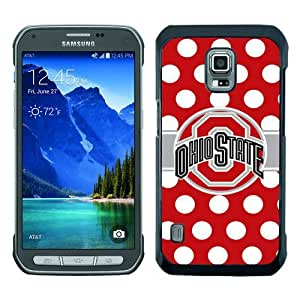 Samsung Galaxy S5 Active Ohio State Buckeyes Black Screen Phone Case Cool and Genuine Design