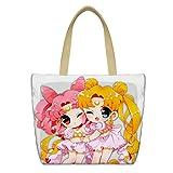 YOYOSHome Anime Sailor Moon Cosplay Messenger Bag Shoulder Bag Handbag Backpack School Bag