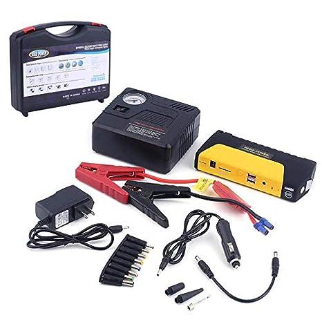 Cargador de Coche, 68800MAH USB Motor Coche Arrancador de ...