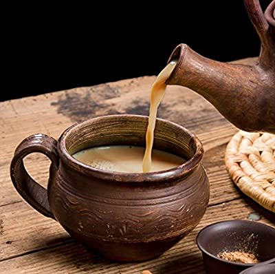 Cha's Organics Delicious Organic Masala Chai Black Tea - Fragrant & Healthy Hand- Picked Loose Leaf Black Tea, With Cardamom, Cinnamon, Black Pepper & Ginger, Invigorating & Energizing - 5.29oz